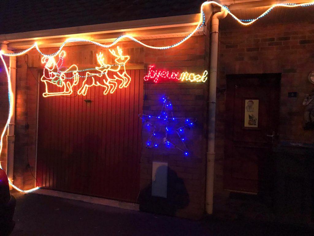 Maison et decoration de Noel